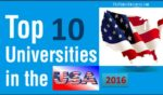 "The ""Top 10"" Universities In U.S.A 