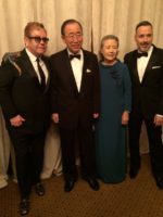 Can you feel the love? #UNSG & his wife meet Elton John & his husband at…