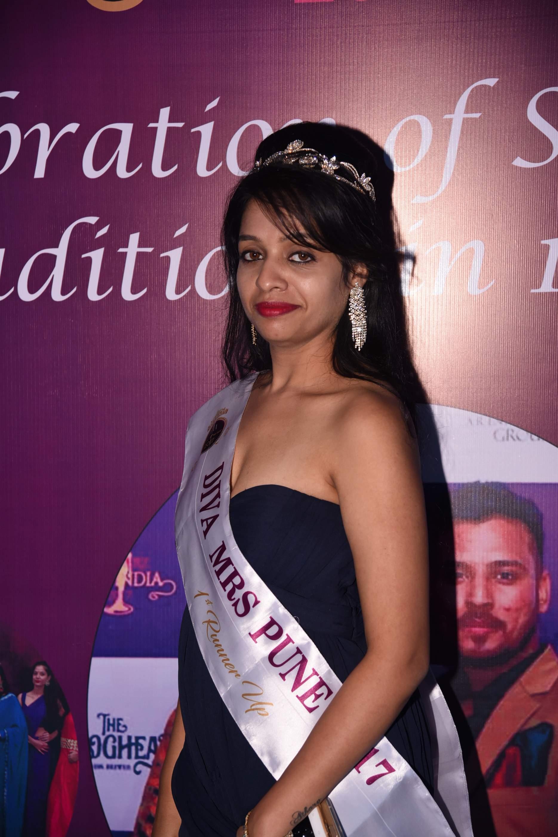 Photo Stills From ARCHERZ Mrs. INDIA 2017 Event