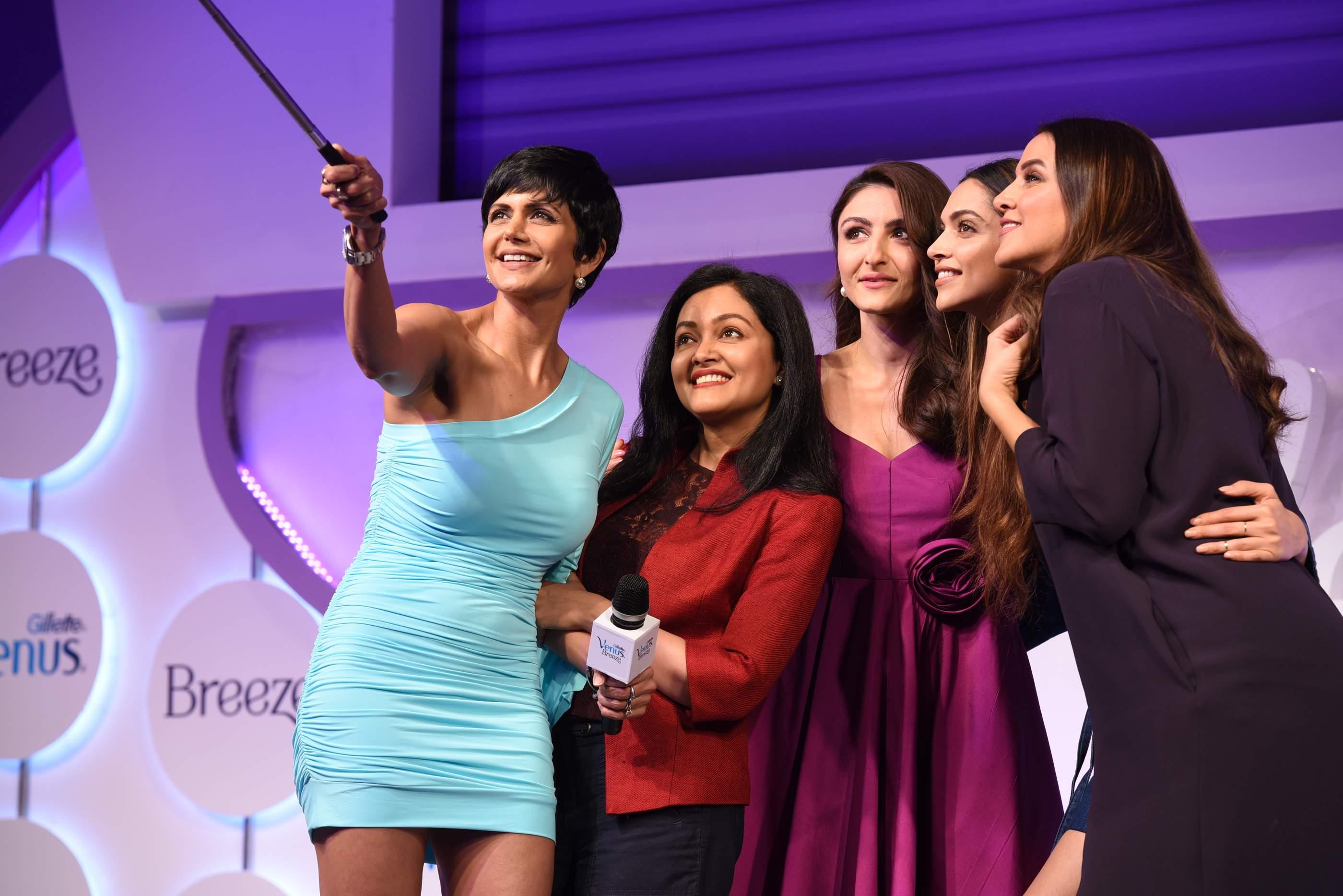 Beautiful Deepika Padukone, Soha Ali Khan & Neha Dhupia Beautiful Deepika Padukone, Soha Ali Khan & Neha Dhupia Gilette 120