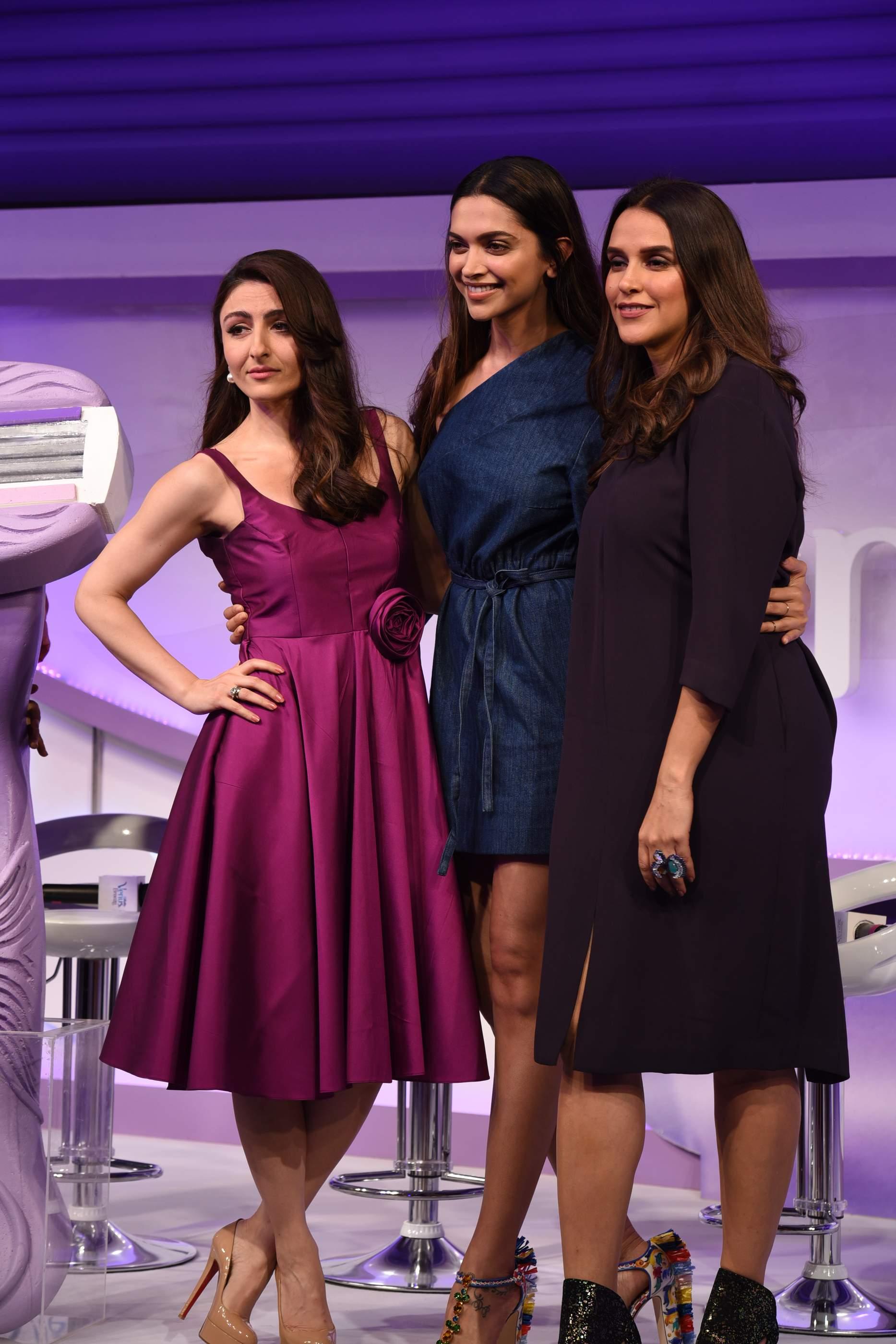 Beautiful Deepika Padukone, Soha Ali Khan & Neha Dhupia Beautiful Deepika Padukone, Soha Ali Khan & Neha Dhupia Gilette 130
