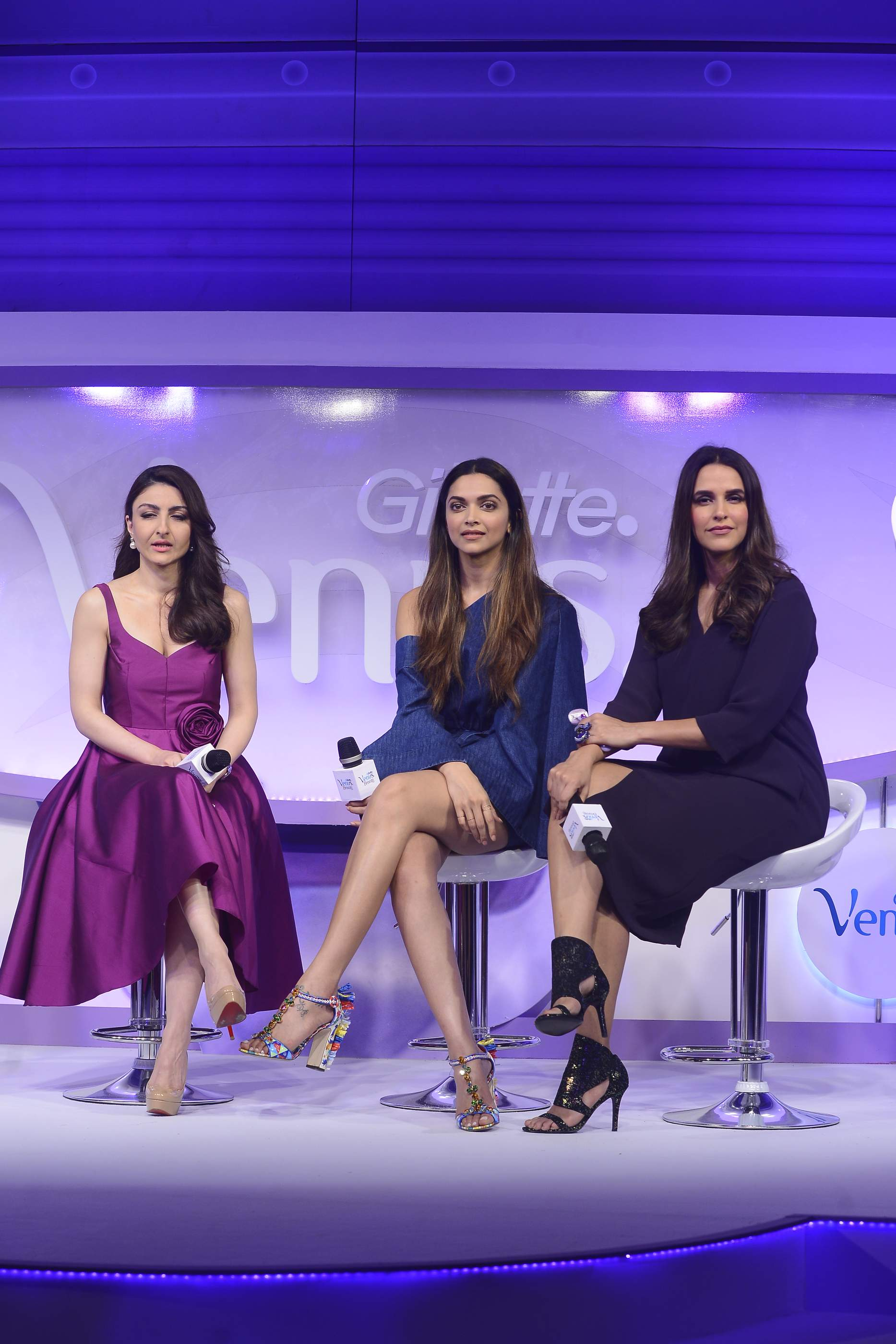 Beautiful Deepika Padukone, Soha Ali Khan & Neha Dhupia | Gillette