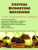 Capital Budgeting | Criteria | Substitute Directions