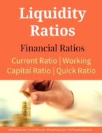 Liquidity Ratios | Current Ratio | Working Capital Ratio