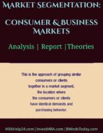 Market Segmentation   Consumer Markets   Business Markets