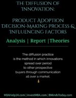 Diffusion of Innovation   Product Adoption