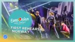 Alexander Rybak – That's How You Write A Song – First Rehearsal – Norw…