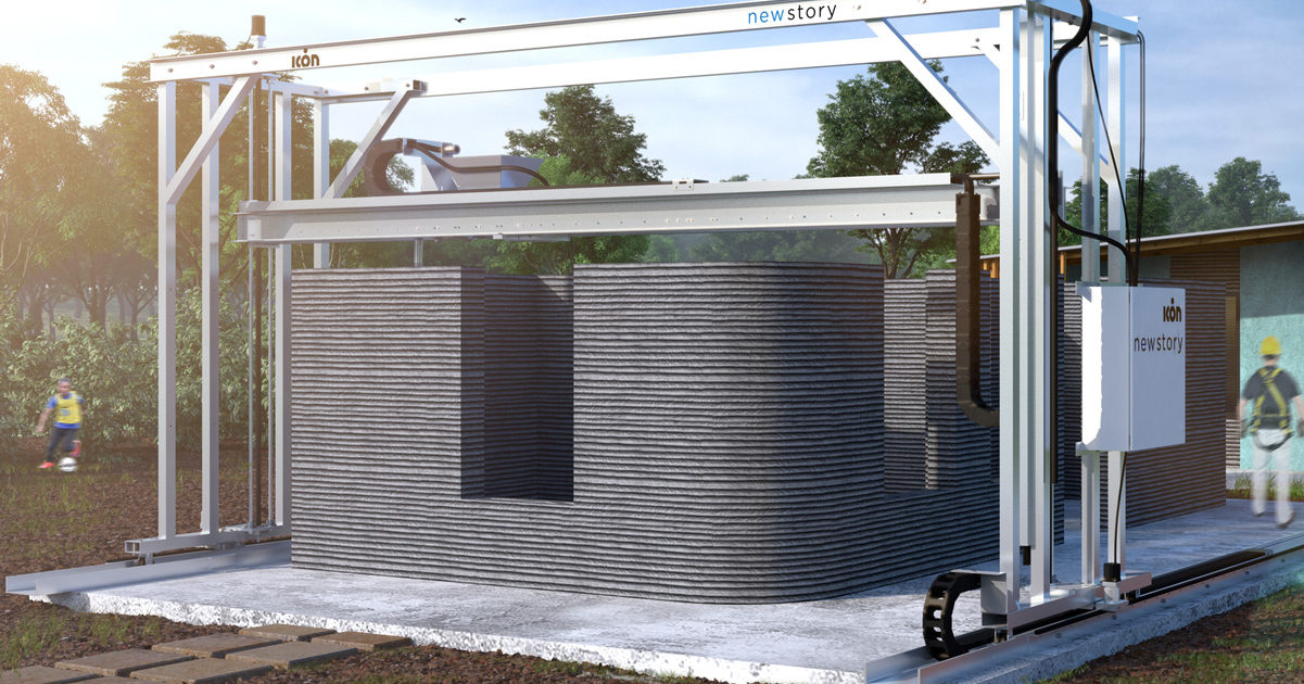 Here's The World's FIRST 3D-printed Concrete Barracks