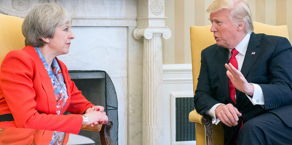 Why Does Theresa May Listen To Trump?