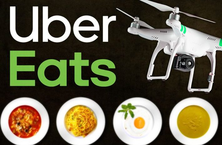 Here's When Uber Plans To Launch Its Drone-based Food Delivery Service