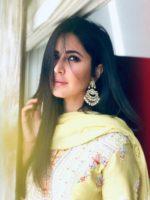 Katrina Kaif in gorgeous desi Yellow look was the Showstopper at Anurag Basu's Home
