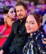 The Sexiest Selfie of Filmfare 2019: Sonakshi Sinha, Shah Rukh Khan, Deepika Padukone