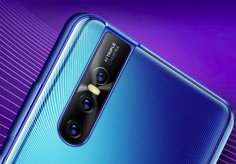 this phone has a pop out camera for selfies ?? go ahead and see… This phone has a pop out camera for selfies ?? Go ahead and see… vivo v15 pro amazon teaser