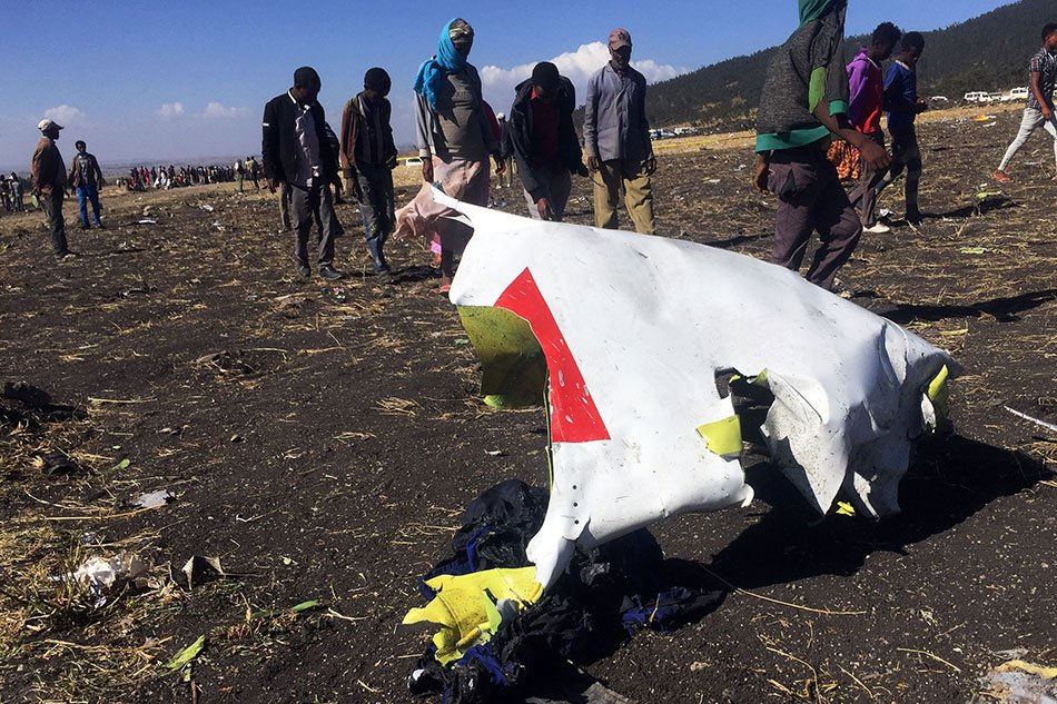 Ethiopian Airlines crashed at Bishoftu with 157 persons on board Ethiopian Airlines crashed at Bishoftu with 157 persons on board 20190310 ethiopian airlines 2