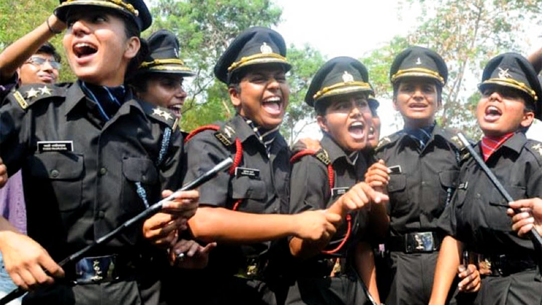 Women officers to be granted permanent commission in Army Women officers to be granted permanent commission in Army Women army officers v 1080x608