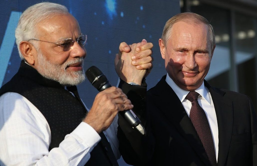 Russia Honours Modi With Highest Civilian Award – Why?  Russia Honours Modi With Highest Civilian Award – Why? modi and putin e1555118967498