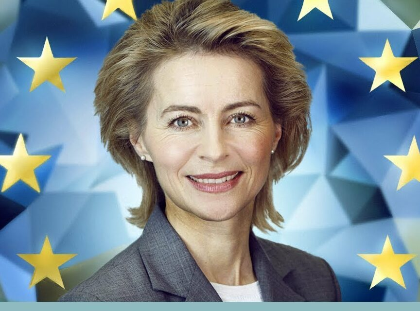 For The First Time Ever, The EU Commission President Is Woman
